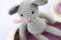 CROCHET MOUSE in blanket Crochet Doll Amigurumi by DOLITTLECRAFTS