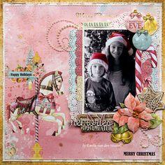 Christmas Eve {BoBunny} - Scrapbook.com