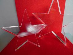 Stern II 5 zackig  HOCHGLANZ von PAULSBECK Buchstaben, Dekoration & Geschenke auf DaWanda.com