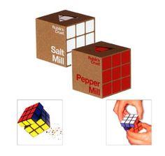 Rubik Cube Salz- und Pfeffermühle - genug gerätselt - Engadget German