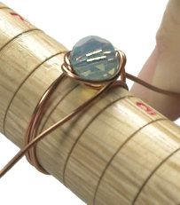 Simple Wire-Wrapped Ring Tutorial by Erin Welk