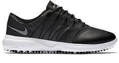 Nike Damen Lunar Empress 2 Golfschuhe, Schwarz (Black/Metallic Silver/White), 36.5 EU