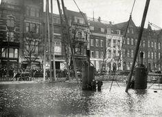 Coolsingel links hoekpand Aert van Nesstraat