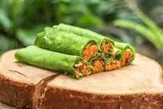 Crepes de Espinafres com Recheio da Horta ♥ GlutenFree com paixão