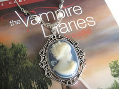 Katherine Pierce's Cameo Necklace The Vampire
