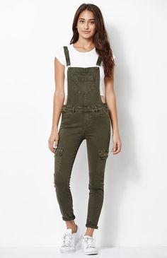 Kendall and Kylie Utility Overalls at PacSun.com