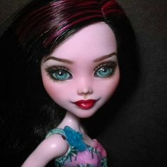 OOAK Custom Monster High Doll Repaint  by SirensandSeaweed on Etsy