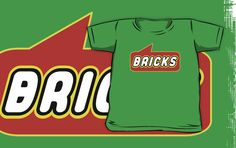 Bricks T-shirt by Bubble-Tees.com by Bubble-Tees