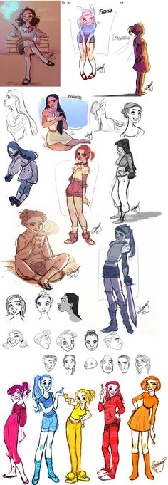 Britt315 ✤ || CHARACTER DESIGN REFERENCES | Find more at https://www.facebook.com/CharacterDesignReferences if you're looking for: #line #art #character #design #model #sheet #illustration #expressions #best #concept #animation #drawing #archive #library #reference #anatomy #traditional #draw #development #artist #pose #settei #gestures #how #to #tutorial #conceptart #modelsheet #cartoon #female #lady #woman #girl || ✤