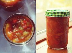Ketchup aux fruits Ketchup Canning Recipe, Canning Recipes, Confort Food, Canadian Food, Jam And Jelly, Jelly Recipes, Fermented Foods, Spice Mixes, Chutney