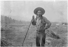 Bureau of Indian Affairs:  Native Americans have been farming and ranching for hundreds of years. Here is Louie Pierre, a farmer on the Flathead Reservation in Montana around 1920. Native American farmers and ranchers claim that USDA officials discri..