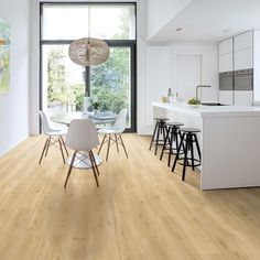 Popular Flooring Trends for 2019 - - What are the top flooring trends in We take a look at dark floors, grey floors, reclaimed floors, chevron floors and even burnt floors for the home. Luxury Vinyl Flooring, Diy Flooring, Kitchen Flooring, Laminate Flooring, Flooring Ideas, Dark Timber Flooring, Plywood Floors, Plywood Furniture, Furniture Design
