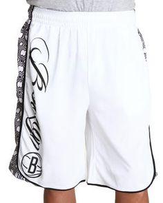 UNK ST | Brooklyn Nets Geo Inset Shorts. Get it at DrJays.com