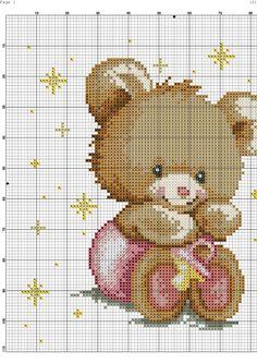 Cross Stitch Baby, Cross Stitch Samplers, Cross Stitching, Crochet Toddler Dress, Crochet Baby, Welcome Baby, Craft Patterns, Flower Crafts, Beading Patterns