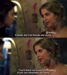Shay Mitchell (Emily) & Ashley Benson (Hanna) - Pretty Little Liars
