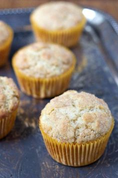 Snickerdoodle Muffins @foodfanatical