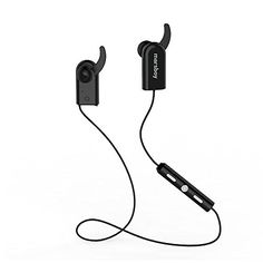 marsboy Sport Earbuds Blutooth 4.0 Wireless Sport Earbuds for Running Waterproof Bluetooth Earbuds Stereo Sound Black