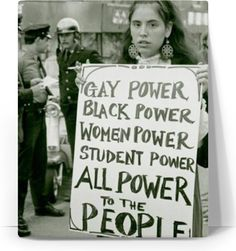 Power To The People Portrait, Boho, Hippie