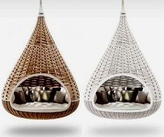 Indoor Hammock Bed   ... Smart Solutions for Your Home - Suspended Beds   How to Build a House