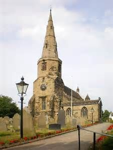St Cuthbert's Church Halsall, Lancashire Rev John Prescott 1510-1558 was Curate here