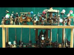 YouTube Kinetic Art, Automata, Woodcarving, Wooden Toys, Youtube, Wood, Wooden Toy Plans, Wood Toys, Wood Carvings