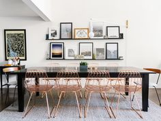 Wondering how to arrange your dining room layout? It all starts with precise measurements and a dining room table. Follow these simple steps.