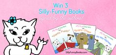 Win 3 Silly-Funny books, signed by the authors! Enter here: http://woobox.com/ui4fbg