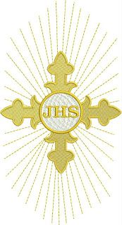 Embroidery Patterns, Machine Embroidery, Easter Religious, Holy Rosary, Church Banners, Corpus Christi, Fabric Art, Stencils, Drawings