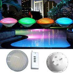 RAYWAY LED Par56 bulb Lamp 54W 12V AC par 56 lamp LED swimming pool lighting RGB IP68 LED underwater light Pond lights (32484421439)  SEE MORE  #SuperDeals