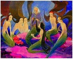 çizgili masallar Kay Nielsen, The Little Mermaid