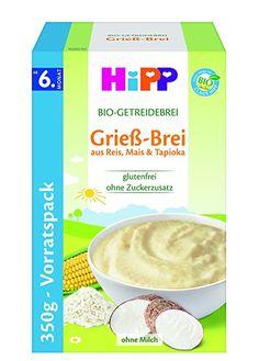 Hipp Bio-Getreide-Breie; Grieß-Brei, 4er Pack (4 x 350 g) Pie, Chart, Glutenfree, Torte, Cake, Fruit Cakes, Pies, Cheeseburger Paradise Pie