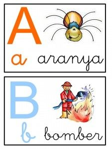 Abecedari Colegio Ideas, Montessori Activities, English Grammar, Classroom Organization, Alphabet, Projects To Try, Language, Teacher, Writing