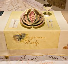 Virginia wollf's dinner plate