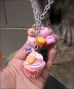 I'm A Little cupcake Necklace by StarfishStratagies on Etsy, $22.00