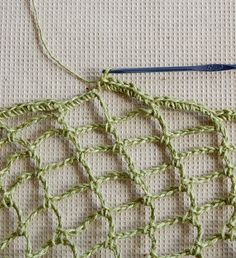 Crochet Net : ... make a crochet net bag see more 1 crocheted yarn bag artoftangle com