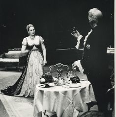 #TBT to the 1958 production of Puccini's Tosca starring the great Renata Tebaldi in the title role. Join us tomorrow afternoon for a #FacebookLive with soprano @anna_netrebko_yusi_tiago and fashion designer @zacposen as they view and discuss historic Tosca costumes (including the one seen here) worn by the greatest sopranos of all time. Anna Netrebko sings the title role of Tosca in a new production next season.  __________________________ #Tosca #Puccini #Throwback #RenataTebaldi #Opera…