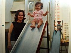 Ana Holanda e a mãe - receita de sufle de milho
