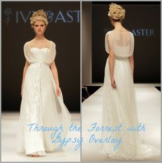 Wholesale 317 Sleeveless Sweetheart Neckline Sashes Lace Throughthe Forest Gypsy Overlay 2015 Ivy & Aster Wedding Gowns Bridal Dresses, Free shipping, $223.46/Piece | DHgate Mobile