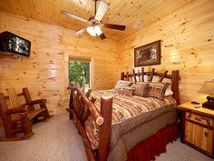 Secluded Smoky Mountain cabin rentals at http://www.encompassvacations.com