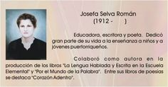 Josefa Selva Roman.