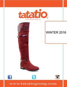 #TATA_TIO  #Boots #Red  WINTER 2016 ❄ TATA TIO ON Twitter : twitter.com/Tatatio_Tio TATA TIO ON Pinterest : www.Pinterest.com/TataTaio TATA TIO ON Instagram : instagram.com/tata.tio
