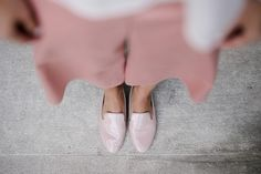 DIY culotte Burda Everybody's Darling, Hi Gorgeous, Ballet Shoes, Dance Shoes, Sewing Projects, Loafers, Flats, Heels, Pink