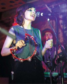 Lauren Mayberry (Chvrches); I wish I was herrrrrrr.
