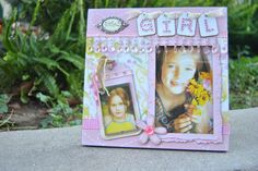Girls Picture Frame