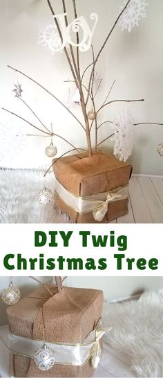 My DIY twig Christma
