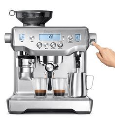 Breville oracle touch review its expensive but its worth it the oracle has automatic grinding dosing tamping and milk texturing automating the two most difficult parts of manual fandeluxe Images