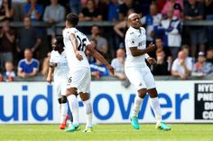 Black Stars vice-captain and Swansea City star Andre Ayew scored his first goal for the English Premier League side in pre-season ahead of the upcoming campaign.