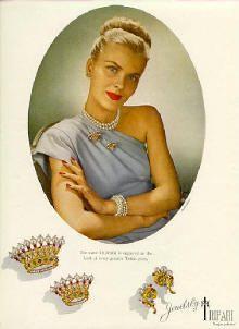 "TRIFARI ""Crowns""   Town & Country 1945"