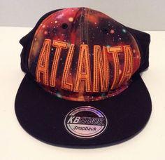 KB Ethos Atlanta Snapback Hat/Cap Premium Headwear Adjustable Hip Hop Rap Dance  | eBay