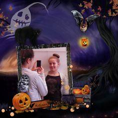 Animation scrapbooking spécial Halloween le 25 octobre 2013 à l'espace Cyber-base de Nancy.